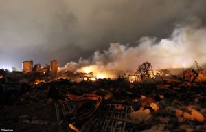 West Fertilizer Plant Explosion 4/17/2013